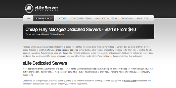 affordable ssd dedicated server