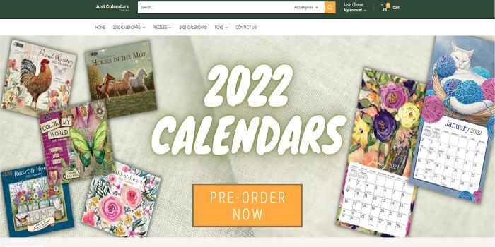 Buy 2022 Calendars