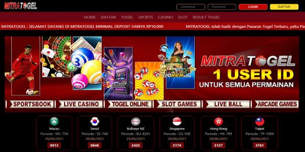 Bandar Judi Bola Togel Online Terpercaya Indonesia